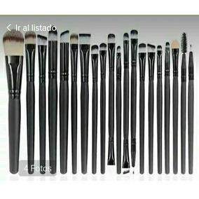 Set Kit De Brochas De 20 Pinceles Maquillaje Profesional