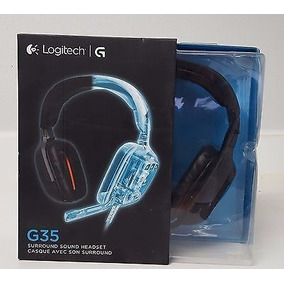 Auriculares Logitech G35 Tarjeta De Sonido 7.1 Sonido Gaming