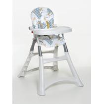 Cadeira Alta Refeição Premium Dobrável Galzerano Oceano