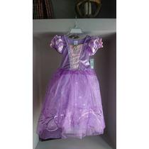 Disfraz De Rapunzel Original Disney Store Talle 5/6