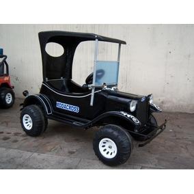 Auto Eléctrico Niños Ford T Antigüo 12v Rodacross