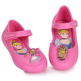 Sapatilha Infantil Grendene Princesas - 17 Ao 25 - Lilas
