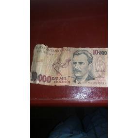 Nota De 10 Mil Cruzeiros Antiga