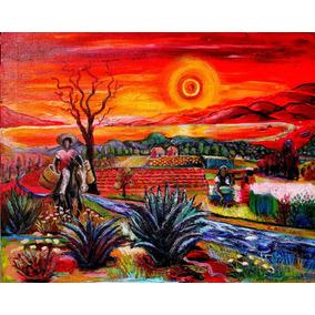 Cuadros En Tela Canvas, Pueblos De Mexicanas