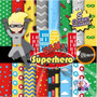 Kit Imprimible Pack Fondos Super Heroes Clipart Imagenes