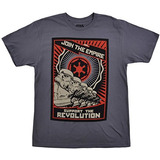 Disney Star Wars Camiseta Storm Troopers Gris Pequeña