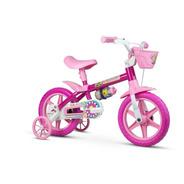 Bicicleta Infantil Aro 12 Flower 11 - 3 A 5 Anos Nathor