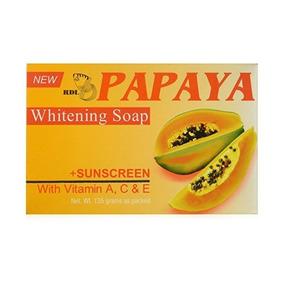 Piel Jabón Original Rdl Papaya Whitening Plus Protector Sola