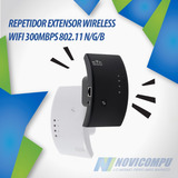 Repetidor Extensor Wireless Wifi 300mbps Segundo Gratis
