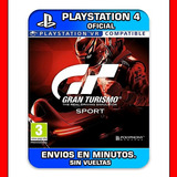 Gran Turismo Sport Ps4 Español :: Digital : Envios En Min