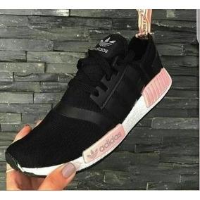 new york e56d1 98485 Zapatillas adidas Nmd Xr1, Negra Blanco - Rosa Hombre, Dama