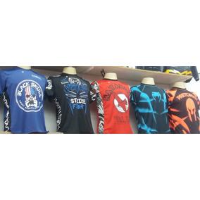 Camisa Camiseta Regata Compressão Reebook Muay Thai Ufc Tnt