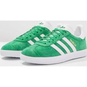 53425a0557324 Zapatos Adidas Gazelle Hombre - Ropa y Accesorios Verde en Mercado ...