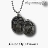 Game Of Thrones Colgante Con Cadena Casa Stark House