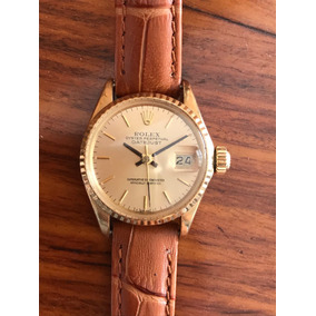 Relógio Feminino Rolex - Oyster Perpetual- Ouro 18k Sólido