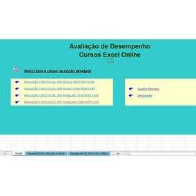 Planilha Avaliacao Desempenho Cursos E Faculdade Escolar