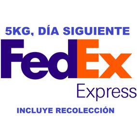 Guia Electrónica Fedex Exprés, Día Siguiente 5kg Recolección