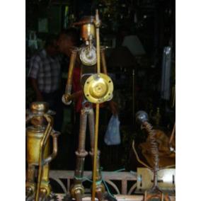 Arte En Metales Don Quijote De La Mancha Y De Sancho Panza