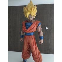 Goku Dragon Ball Estátua De Resina 45 Cm