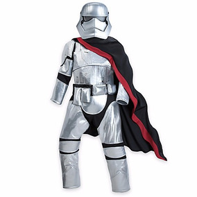 Star Wars Capitan Phasma Disfraz Disney Store Varias Tallas