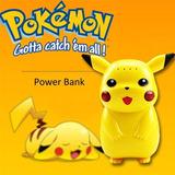 Cargador Portatil Pokemon Pikachu Energía 10000mah