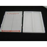 Combo 10 Cajas Plásticas ( Abs) Para 100 Portaobjetos