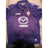 Camiseta Violeta Fiorentina Medida 56x71 Talle L