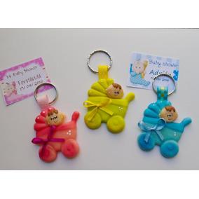 Lindas Carreolitas Llavero Para Baby Shower Varios Colores