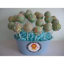 Deliciosas Paletas Cake Pops Baby Shower, Despedida, Bautizo