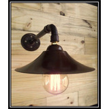 Aplique Lámpara Industrial Galponera Vintage Pared Comercial