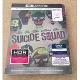Suicide Squad: Best Buy Steelbook 4k Ultra Hd + Blu Ray