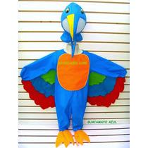 Disfraz De Guacamaya Azul Disfraces Pajaro Primavera Niños