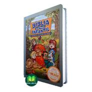 Bíblia Ilustrada Infantil Capa Dura Nova Edição P/ Crianças