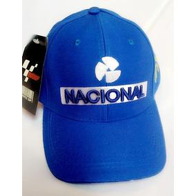 Boné Aba Curva Retrô Banco Nacional Ayrton Senna F1 Snapback 39ada820855