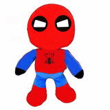 Muñeco De Tela Peluche Spiderman Homecoming 30 Cm Aprox
