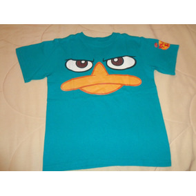 Remera Niño Agente Perry Phineas & Ferb T. 5/6 Disney Store
