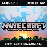 Minecraft - Windows 10 Edition - Pc - Entrega Inmediata