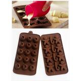 Molde De Silicon Para Bombon Chocolate