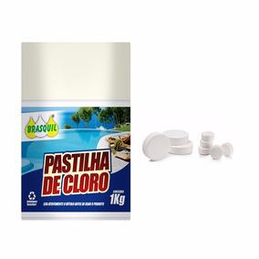 Pastilhas De Cloro Para Piscina - Kit 20 Unidades 200gr Cada