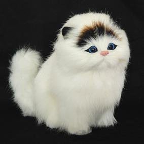 Filhote Pelúcia Gatinho Lindo Gato Mini Petz Mia