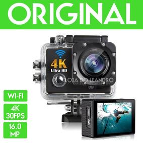 Filmadora Full Hd 1080p 4k Wifi Camera Esporte Capacete 16mp