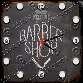 c8e71003fa0 Relógio Vintage King Mdf 27x27 Barber Shop Cloqbc.0629 · R  29 98