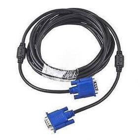 Cable Vga A Vga Macho Doble Filtro Lcd Pc Notebook Smart Tv