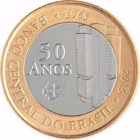 Moedas Colecionaveis 50 Anos Do Banco Central
