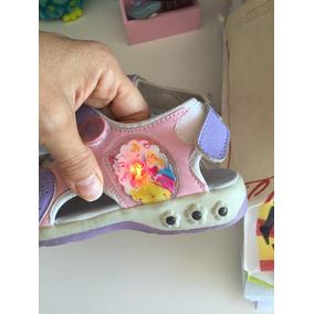 Zapato Niña Princesa Con Luz Talle 12 Impecablekmpecable