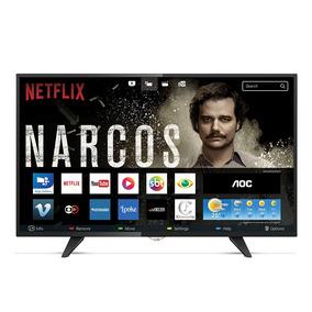 Smart Tv Led 43 Aoc Le43s5970 Fullhd Com Wi-fi 2 Usb 3 Hdmi