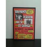 Cuadros Decorativos Salsa Afiches Concierto Antiguo