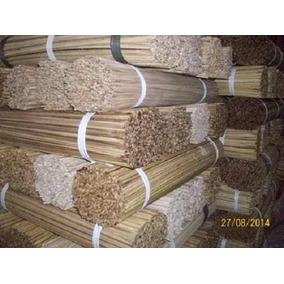 Vareta De Bambu 60 Cm P/ Pipas Gaiolas E Etc... C/100