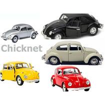 Kit 5 Miniatura Fusca Volkswagen Classical Beetle- Barato!!