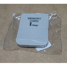 Memory Card Playstation Ps1 Psone Psx 1mb Novo